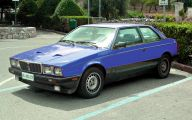 1984 Maserati Biturbo 27 Background Wallpaper