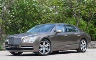 2014 Bentley Flying Spur 1 Background Wallpaper