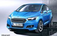 2015 Ford Fiesta 12 Wide Car Wallpaper