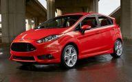 2015 Ford Fiesta 18 Car Background