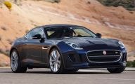 2015 Jaguar F-Type 15 Background Wallpaper