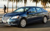 2015 Nissan Sentra 5 Car Desktop Background
