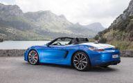 2015 Porsche Boxster 19 Background Wallpaper