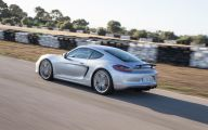 2015 Porsche Cayman 27 Background Wallpaper