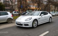 2015 Porsche Panama E-Hybrid 34 Widescreen Car Wallpaper
