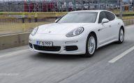 2015 Porsche Panama E-Hybrid 6 Background Wallpaper
