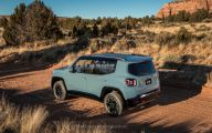Jeep Renegade 28 Background Wallpaper