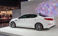 Kia Optima 2 Widescreen Car Wallpaper