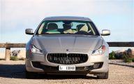 Maserati Quattroporte 19 Background Wallpaper