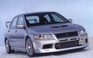 Mitsubishi Evo 43 Car Desktop Background