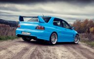 Mitsubishi Evo 5 Car Hd Wallpaper