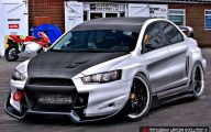 Mitsubishi Lancer Evolution 14 Background Wallpaper