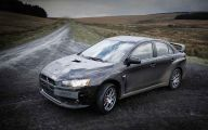 Mitsubishi Lancer Evolution 9 Car Desktop Background