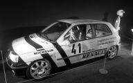 Old Renault Models 21 Car Background