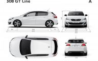 Peugeot 308 Gt Line 27 Widescreen Car Wallpaper