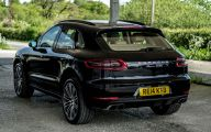 Porsche Macan Turbo 30 Car Background