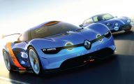 Renault Alpine 20 Car Desktop Background