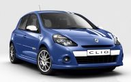 Renault Clio 32 Background Wallpaper