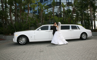 Rolls-Royce Phantom Limousine 40 Car Background