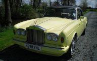 Yellow Rolls-Royce 12 Desktop Wallpaper