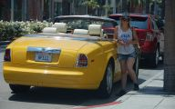 Yellow Rolls-Royce 20 Car Background