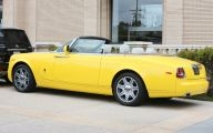 Yellow Rolls-Royce 25 Widescreen Car Wallpaper