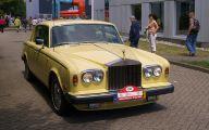 Yellow Rolls-Royce 27 Widescreen Car Wallpaper
