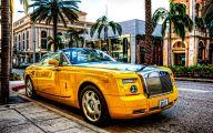 Yellow Rolls-Royce 32 Widescreen Car Wallpaper