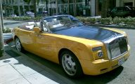 Yellow Rolls-Royce 35 High Resolution Car Wallpaper