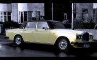 Yellow Rolls-Royce 37 Background Wallpaper
