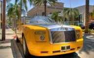 Yellow Rolls-Royce 6 Wide Car Wallpaper