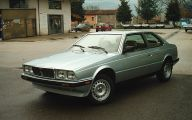 1985 Maserati Biturbo 44 Background Wallpaper