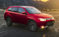 2015 Mitsubishi Outlander Es Fwd 23 Wide Car Wallpaper