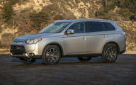 2015 Mitsubishi Outlander Es Fwd 37 Free Car Wallpaper