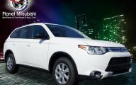 2015 Mitsubishi Outlander Es Fwd 7 Background Wallpaper