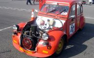 Citroen 2Cv Engine 13 Car Hd Wallpaper