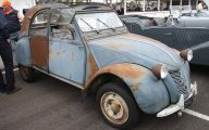 Citroen 2Cv Engine 14 Wide Car Wallpaper