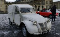 Citroen 2Cv Engine 18 Widescreen Car Wallpaper