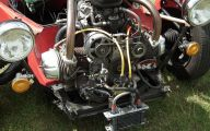 Citroen 2Cv Engine 5 Background Wallpaper