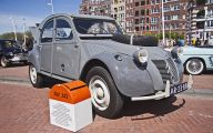 Citroen 2Cv Engine 9 Car Background