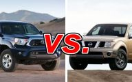 Nissan Frontier Vs Toyota Tacoma 2 Desktop Wallpaper
