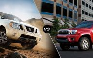 Nissan Frontier Vs Toyota Tacoma 40 Car Hd Wallpaper