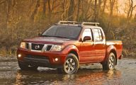 Used Nissan Frontier Truck 5 Background Wallpaper