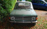 4 Door Fiat 17 Car Desktop Background