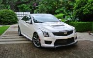 First Drive Cadillac Ats V 25 Car Desktop Background