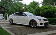 First Drive Cadillac Ats V 29 Background Wallpaper