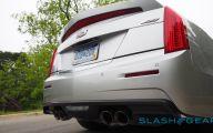 First Drive Cadillac Ats V 30 Car Desktop Background