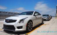 First Drive Cadillac Ats V 36 Wide Car Wallpaper