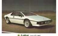 Lotus Esprit 51 Widescreen Car Wallpaper