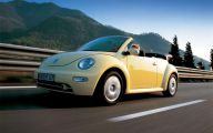 Volkswagen Beetle 5 Background Wallpaper